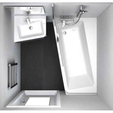 Akrilinė vonia Ravak 10° - 160, 170 cm 3