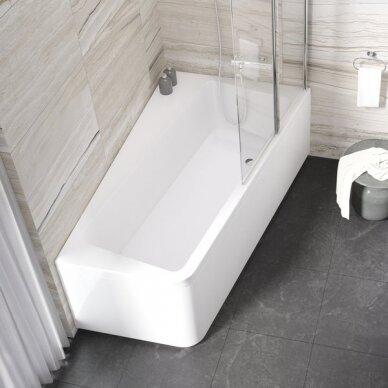 Akrilinė vonia Ravak 10° - 160, 170 cm