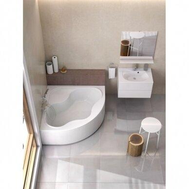 Vonios komplektas Ravak : vonia Gentiana 140 cm 2