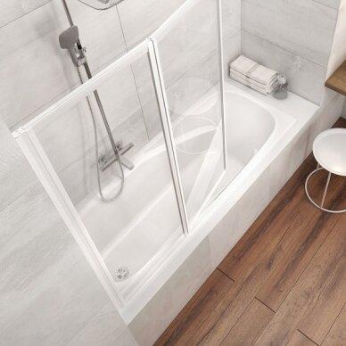 Ravak vonios komplektas: vonia Vanda II 150 cm