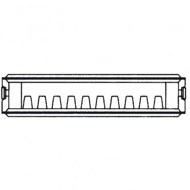 Renovacinis Plieninis radiatorius HM Heizkorper, tipas 33 2
