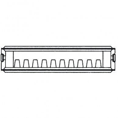 Renovacinis Plieninis radiatorius HM Heizkorper, tipas 20 2
