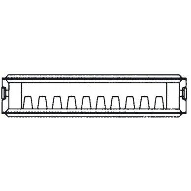 Renovacinis Plieninis radiatorius HM Heizkorper, tipas 21 2