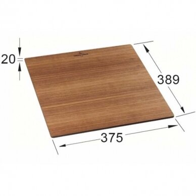 Riešutmedžio pjaustymo lentelė Villeroy & Boch 4