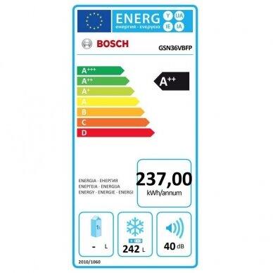 Šaldiklis Bosch GSN36VBFP 5