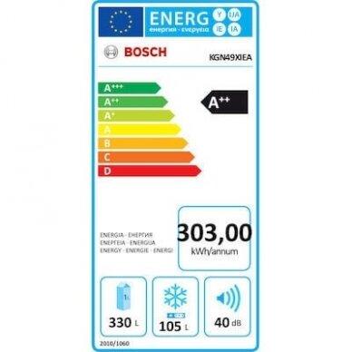 Šaldytuvas Bosch KGN49XIEA 3