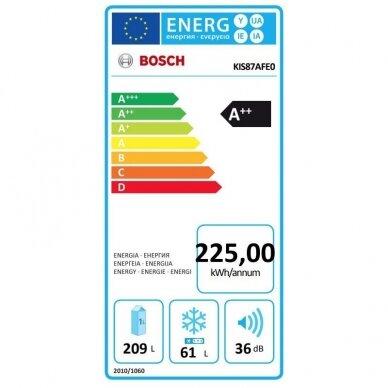 Šaldytuvas Bosch KIS87AFE0 6