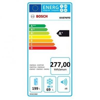 Šaldytuvas Bosch KIV87NFF0 2