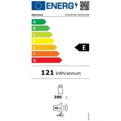 Šaldytuvas ELECTROLUX LRS2DF39X