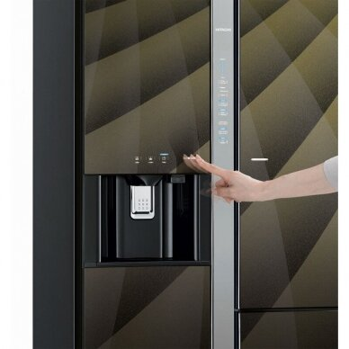 Šaldytuvas Hitachi R-M700VAGRU9X (DIA) 2