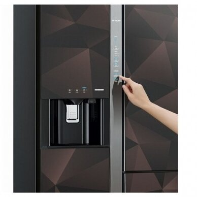 Šaldytuvas Hitachi R-M700VAGRU9X (GBZ) 8