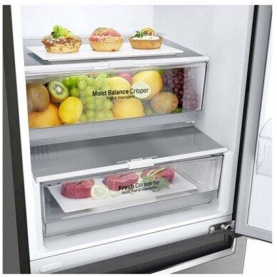 Šaldytuvas LG GBB72PZEFN 2