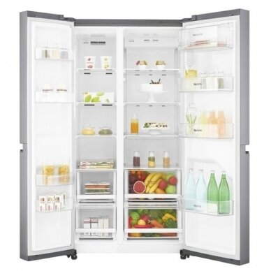Šaldytuvas LG GSB760PZXV 2