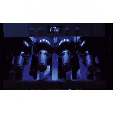 Šaldytuvas vynui Caso Wine cooler WineMaster Touch 66 2