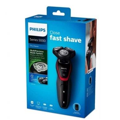 Sauso skutimo barzdaskutė Philips Shaver series 5000 S5130/06 4