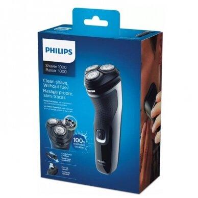 Sauso skutimo elektrinė barzdaskutė Philips 1000 serija 5