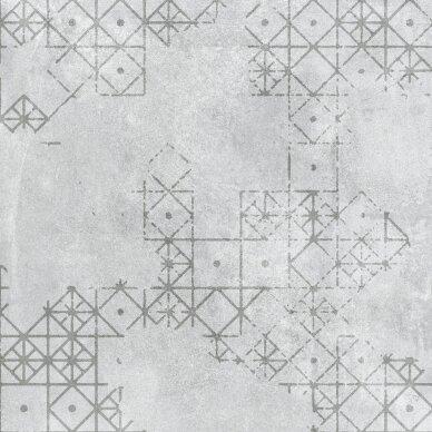 Akmens masės plytelės Shark Motown matinės S 60,7x60,7 cm RET