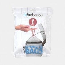 Šiukšlių  maišai Brabantia V 3L (dalytuve 60vnt.)