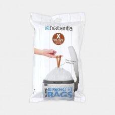 Šiukšlių  maišai Brabantia X 10-12L (dalytuve 40vnt.)