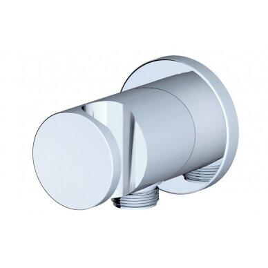 Sieninis dušo išvadas su dušo laikikliu Ravak