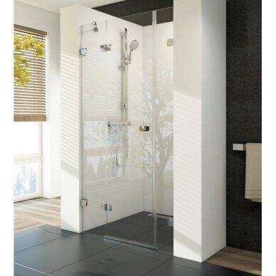 Sieninis termostatinis dušo maišytuvas Ravak Termo 300 3