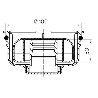 Sifonas Primus HL2090KK trapui HL90Pr-3000, 3020 2