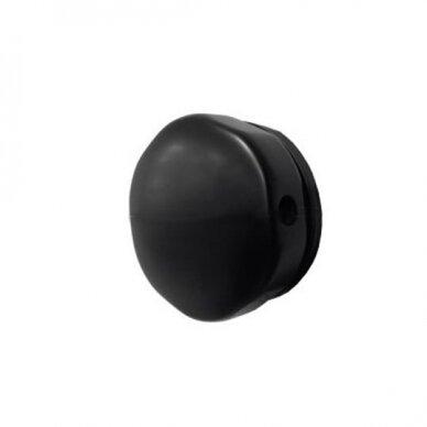 Sifonas voniai Riho 105 cm su matinės juodos spalvos dangteliu 2