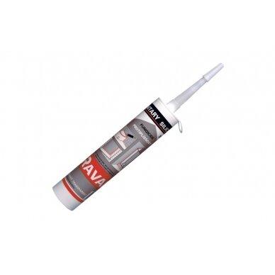 Silikoninis glaistas RAVAK Professional bespalvis, 310 ml