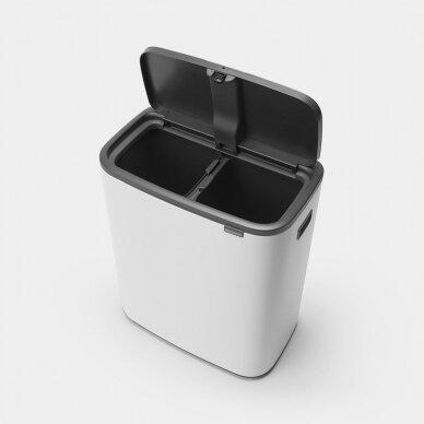 Šiukšlių dėžė Brabantia Bo Touch Bin 2x30L 3