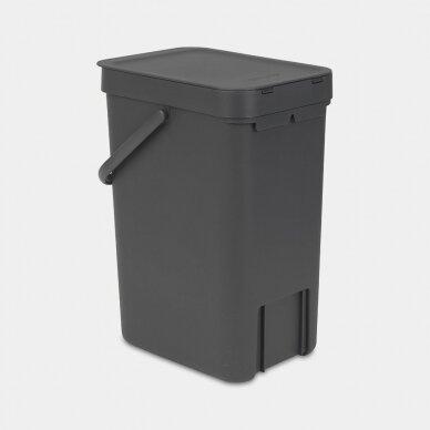 Šiukšlių dėžė Brabantia Sort & Go 12L 2