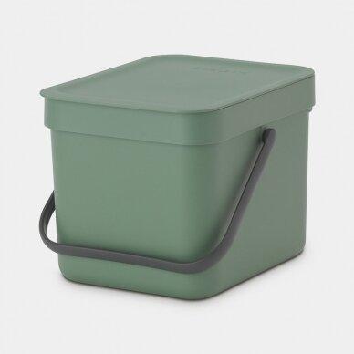 Šiukšlių dėžė Brabantia Sort & Go 6L 2