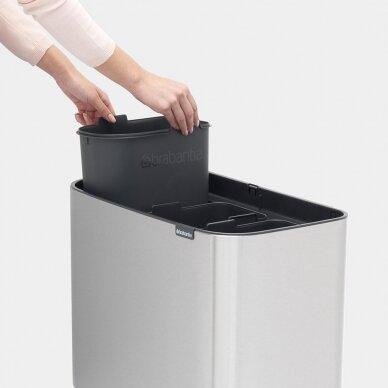 Šiukšlių dėžė Brabantia Bo Touch Bin 3x11L 3