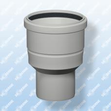 Skoberne perėjimas kondensaciniam katilui d60/100-80-125