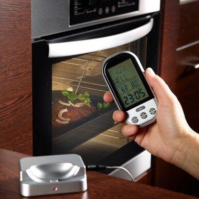 Skaitmeninis kepimo termometras Zyle skirtas mėsai, žuviai 4