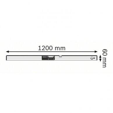 Skaitmeninis posvyrio matuoklis - gulsčiukas Bosch GIM 120 Professional 3