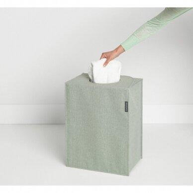 Skalbinių dėžė- maišas stačiakampio formos Brabantia 55L 3
