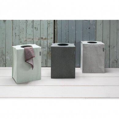 Skalbinių dėžė- maišas stačiakampio formos Brabantia 55L 4