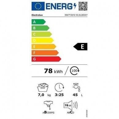 Skalbyklė Electrolux EW7T3372 5