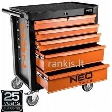 Spintelė su 5 stalčiais Neo 84-224, be įrankių