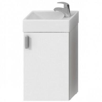 Vonios spintelė su praustuvu Jika Petit 40 cm