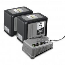 """Komplektas """"Battery Power+ 36/60"""", akumuliatorius ir įkroviklis Kärcher"""