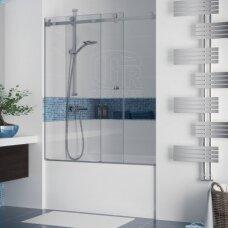 Stumdoma vonios sienelė Griubner RS-V1 150, 160, 170, 180 cm