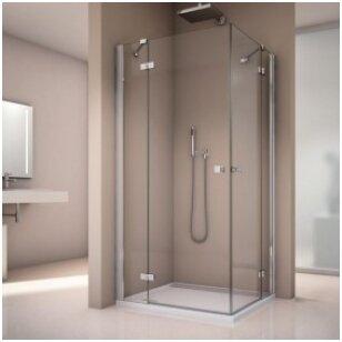 Stiklinių dušo kabinų durų tipai