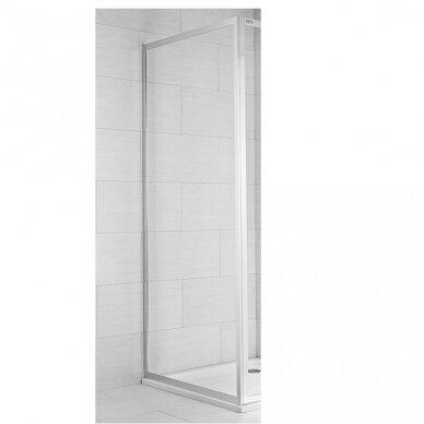 Stacionari dušo sienelė Jika Cubito Pure 80, 90 cm