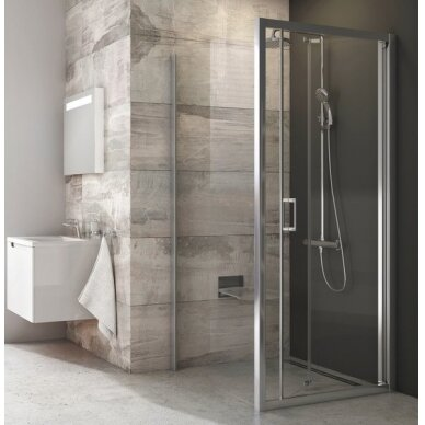 Stacionari dušo sienelė Ravak Blix BLPSZ 80, 90 cm