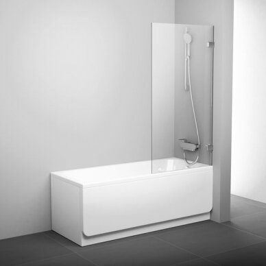 Stacionari vonios sienelė Ravak BVS1 80 cm