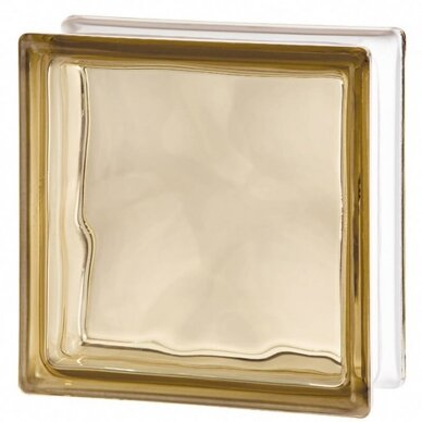 Stiklo blokelis BRONCE COLOREADO BC/19-OB 19x19x8 cm