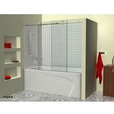Stumdoma vonios sienelė Griubner RS-V1 150, 160, 170, 180 cm 2