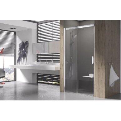Stumdomos dušo durys Ravak Matrix MSD2 100, 110, 120 cm 2