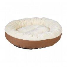 Šuns gultas, 50 x 50 x 20 cm, kreminė